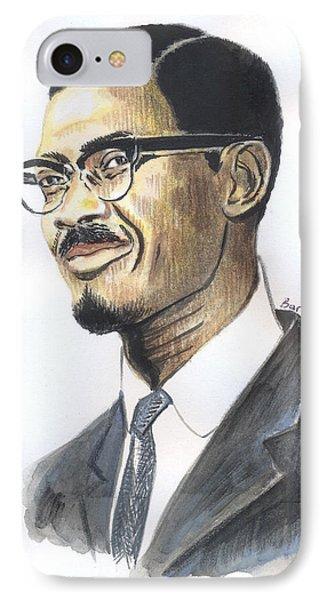 Patrice Emery Lumumba IPhone Case
