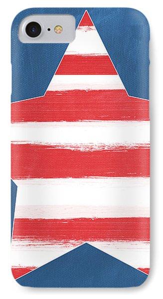 Patriotic Star IPhone Case