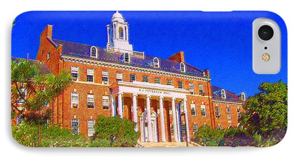 Patterson Hall  IPhone Case