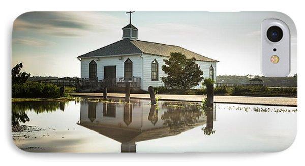 Pawleys Chapel Reflection IPhone Case