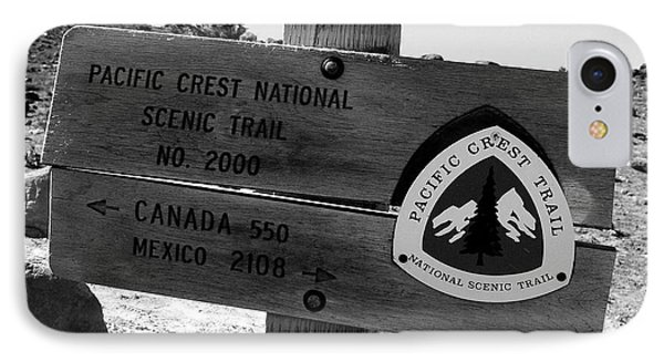Pct Scenic Trail IPhone Case