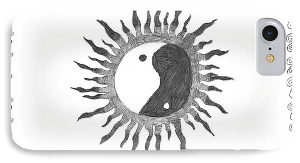 Peace Sun IPhone Case