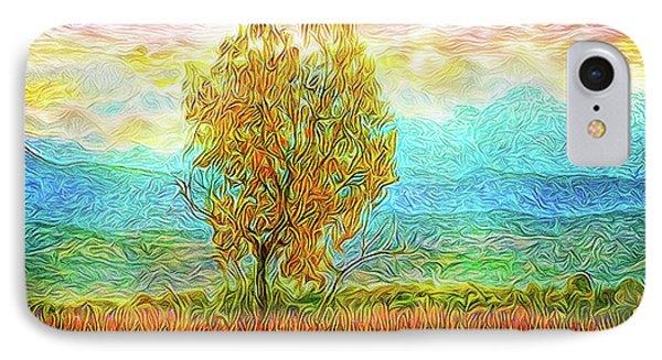 Peace Tree Sunset IPhone Case