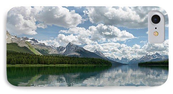 Peaceful Maligne Lake IPhone Case