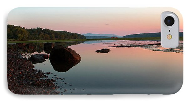 Peaceful Morning On The Hudson IPhone Case