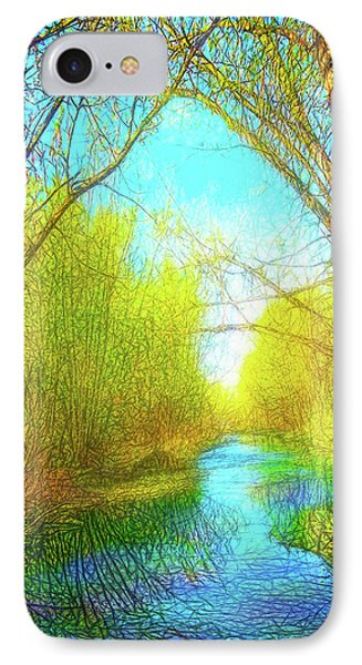 Peaceful River Spirit IPhone Case