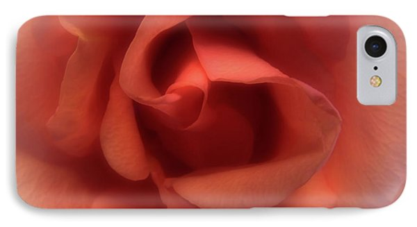 Peach Rose IPhone Case