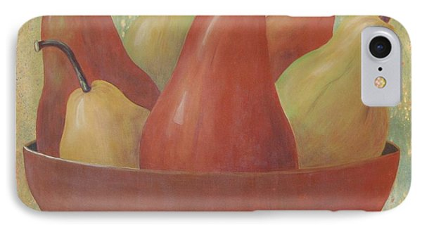 Pears In Copper Bowl IPhone Case