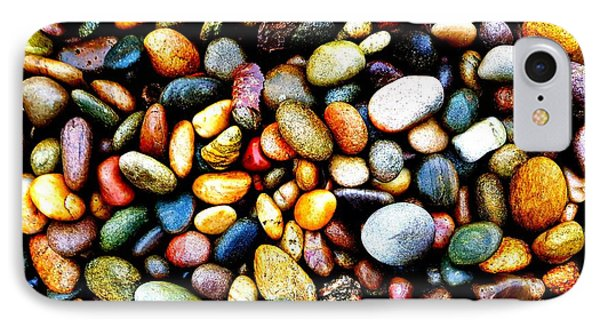 Pebbles On A Beach IPhone Case