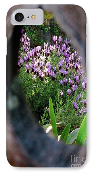 Peephole Garden IPhone Case