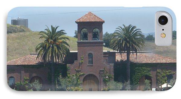 Peitre Santa Winery IPhone Case