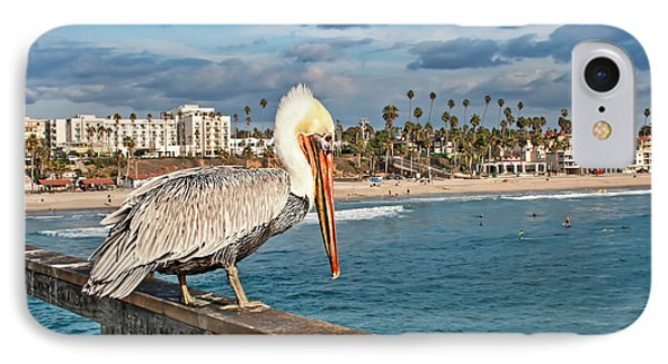 Pelican At The Fishing Point IPhone Case