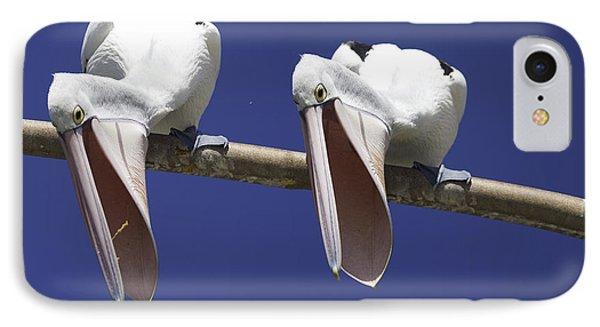 Pelican Burp IPhone Case