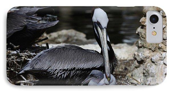 Pelican Hug IPhone Case
