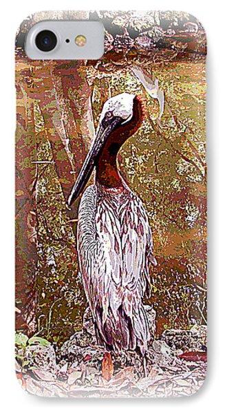 Pelican Posed IPhone Case