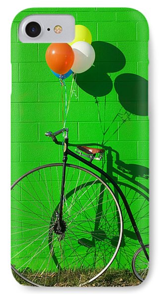 Bicycle iPhone 8 Case - Penny Farthing Bike by Garry Gay