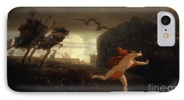 Pentheus Pursued By The Maenads IPhone Case