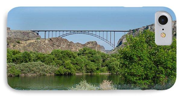 Perrine Bridge At Twin Falls IPhone Case