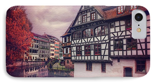 Petite France In Strasbourg  IPhone Case