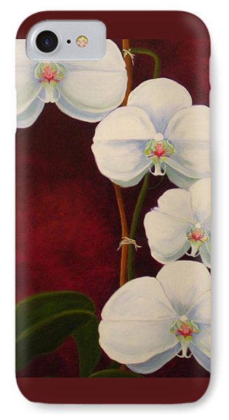 Phaleanopsis IPhone Case