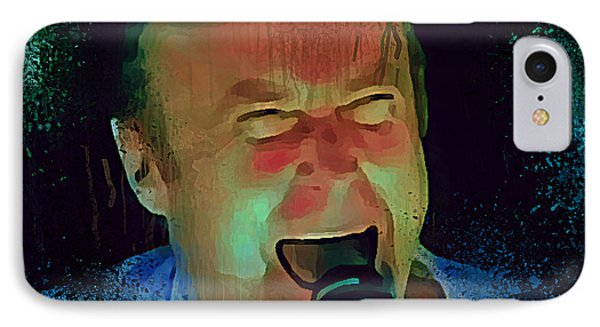 Phil Collins Ha Ha Ha IPhone Case