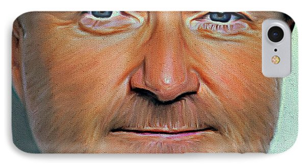Phil Collins Portrait Genesis 11 IPhone Case