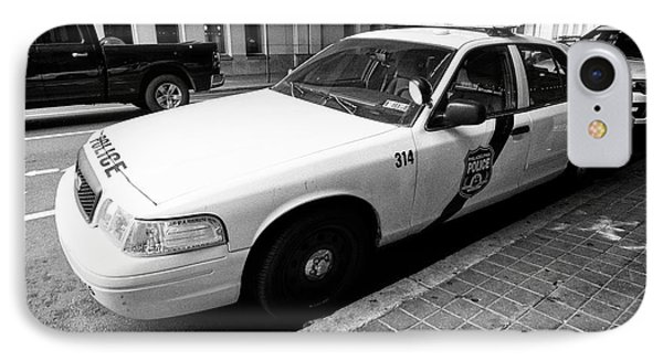 Philadelphia Police Ford Crown Vic Cruiser Patrol Car Vehicle Usa IPhone Case