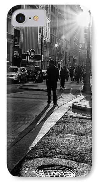 Philadelphia Street Photography - 0943 IPhone Case