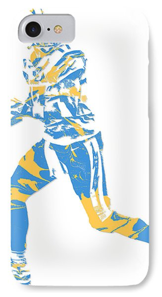 Philip Rivers San Diego Los Angeles Chargers Pixel Art 5 IPhone Case
