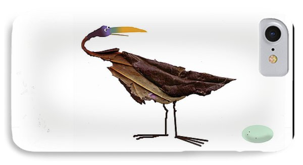 Philosophical Bird IPhone Case