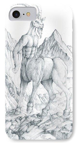 Pholus The Centauras IPhone Case