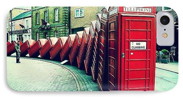 iPhone 8 Case - #photooftheday #london #british by Ozan Goren