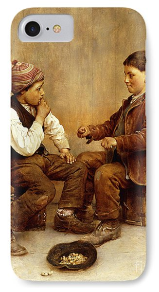 Pick A Hand, 1889 IPhone Case