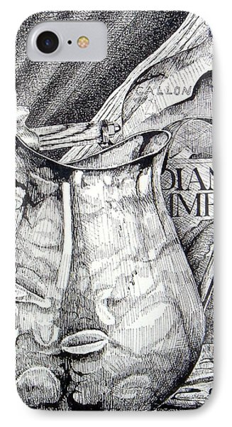 Picture Of Pitcher IPhone Case