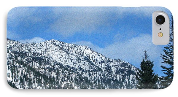 Picturing Beautiful Horizons Methow Valley Motivational Artwork  IPhone Case