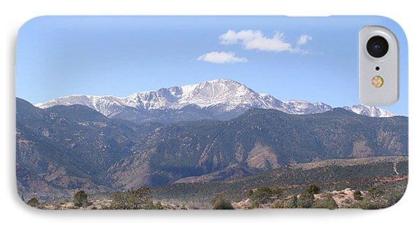 Pikes Peak Colorado One IPhone Case