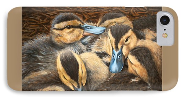 Pile O' Ducklings IPhone Case