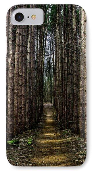 Pine Path  IPhone Case