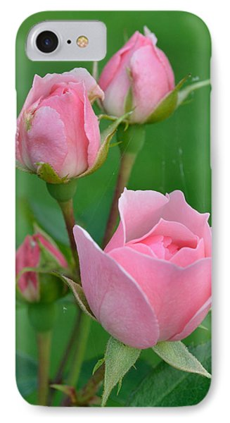 Pink And The Buds IPhone Case