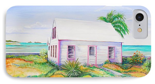 Pink Cottage IPhone Case