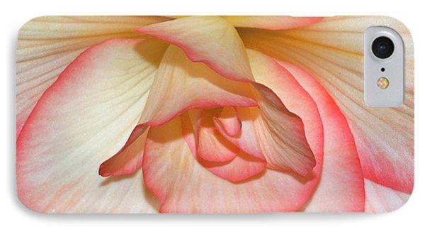 Pink-edged Begonia IPhone Case