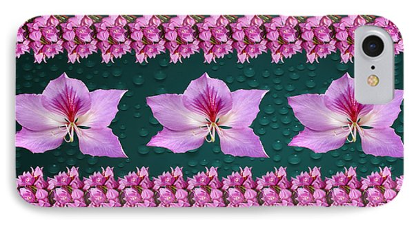 Pink Flower Arrangement IPhone Case