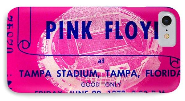 Pink Floyd Concert Ticket 1973 IPhone Case