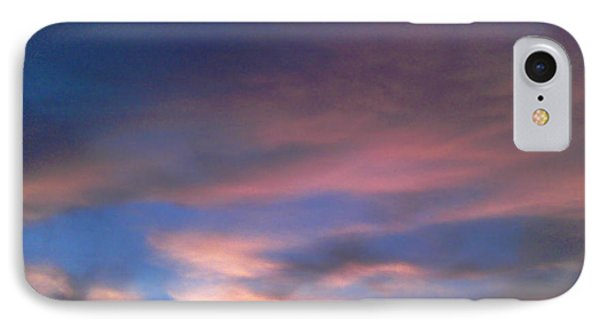 Pink Morning Clouds IPhone Case