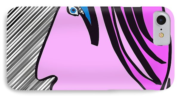 Pink Scarf IPhone Case