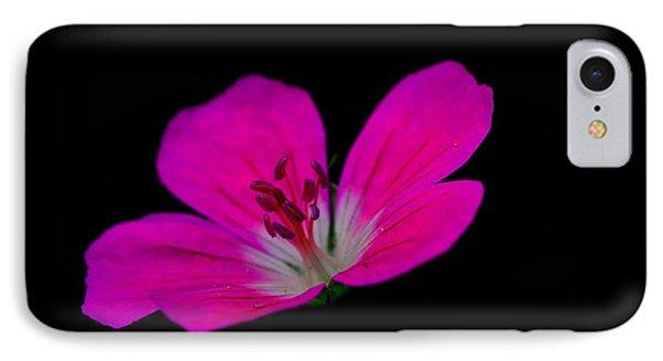 Pink Stamen IPhone Case