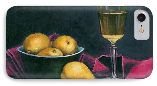 Pinot And Pears Still Life IPhone Case