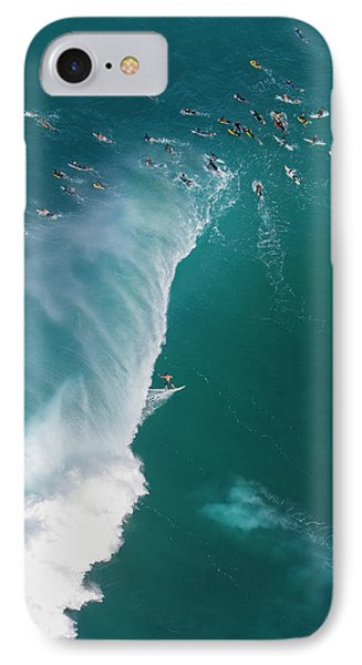 Helicopter iPhone 8 Case - Pipe Tube Overvew by Sean Davey
