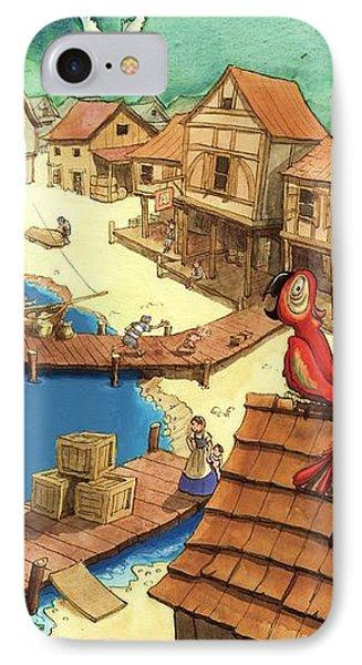 Pirate Port IPhone Case