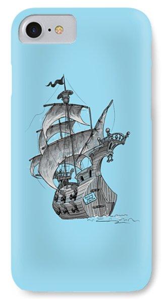 Pirate Ship IPhone Case